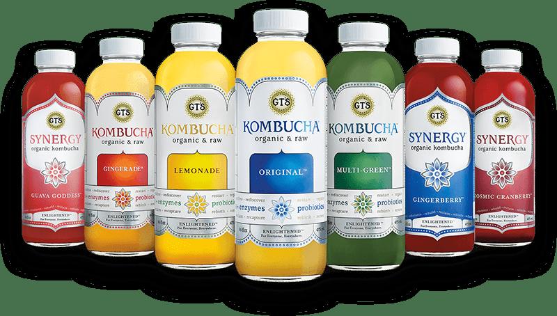 gt's kombucha flavors